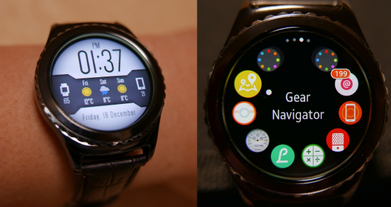 Samsung Gear S2 Review - Design