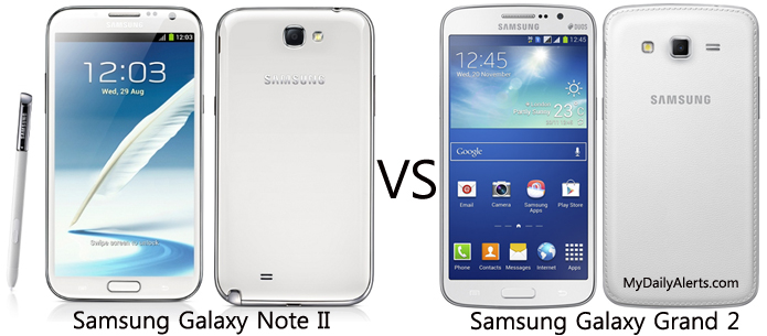 Samsung note 2 vs galaxy grand 2