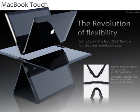flexible macbook touch all in one