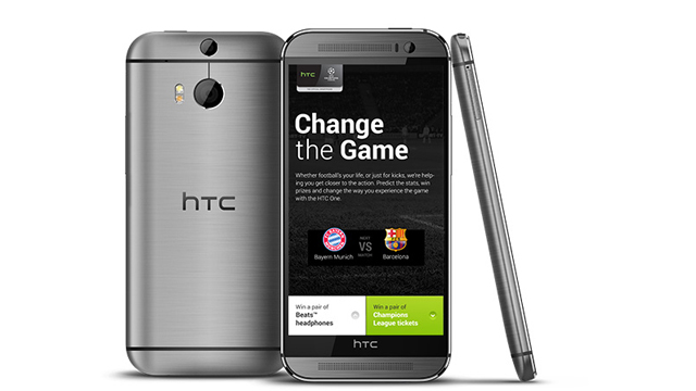 how to screenshot htc one m8