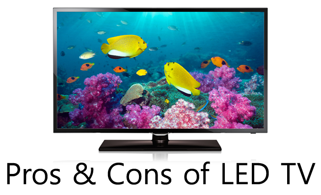 pros and cons of led tv