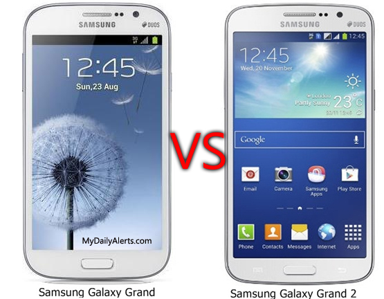 samsung galaxy grand vs galaxy grand 2
