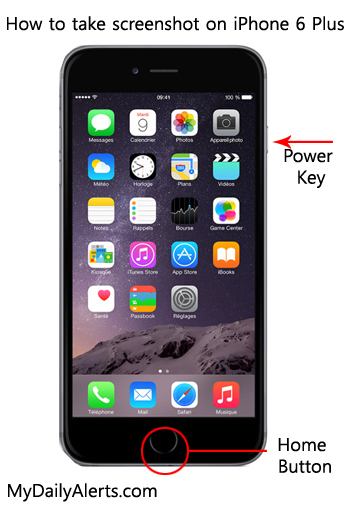 iphone screen capture how to take screenshot on iphone 6 plus 12273
