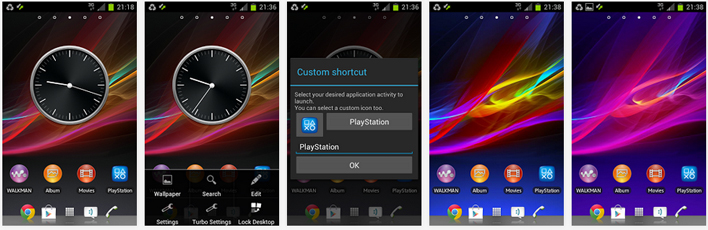 turbo launcher for android